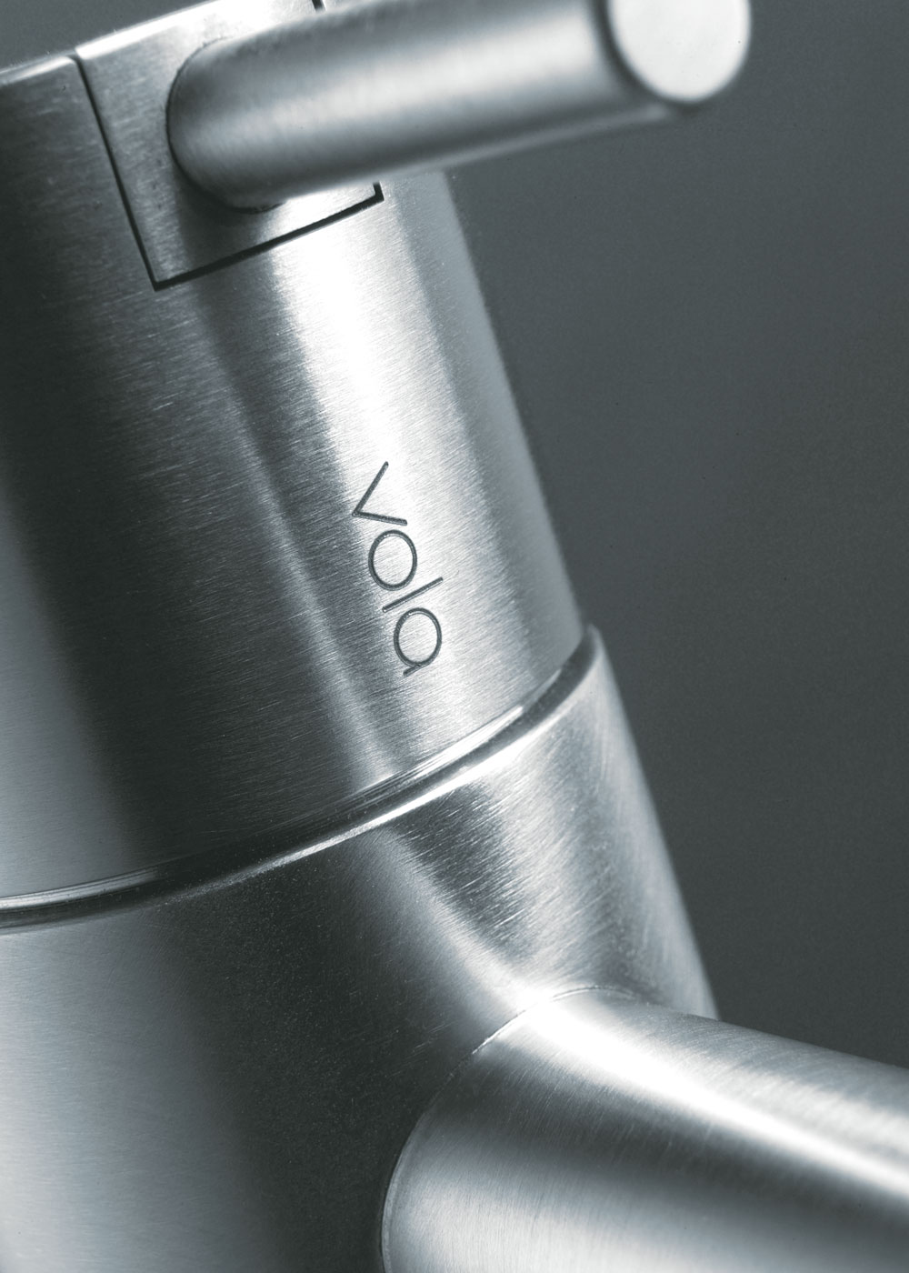 VOLA in stainless steel